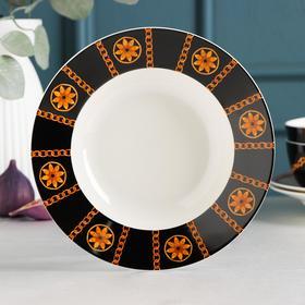 Тарелка суповая Magistro «Княгиня», d=20,2 см
