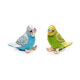 Мягкая игрушка «Попугайчик», 12 см, МИКС