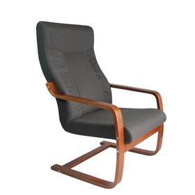 Кресло для отдыха «Палермо», жаккард, цвет графит
