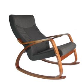 Кресло-качалка «Женева», жаккард, цвет графит