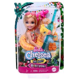 Игровой набор Барби «Челси в купальнике» жираф с полотенцем и аксессуарами Ош