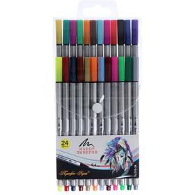 Набор линеров 24 цвета «Профи-Арт», 0.4мм