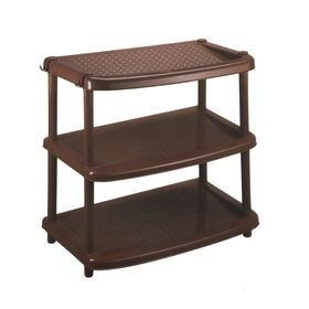 Этажерка для обуви «Паола», 3 яруса, 49×31×47 см, цвет коричневый Ош