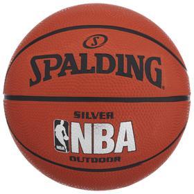 Мяч баскетбольный Spalding NBA Silver р.3