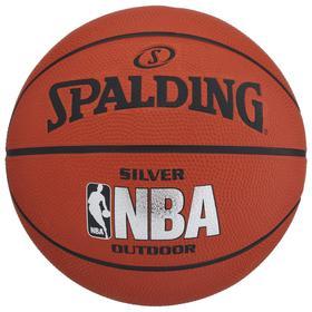 Мяч баскетбольный Spalding NBA Silver р.5