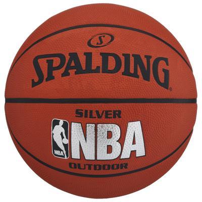Мяч баскетбольный Spalding NBA Silver р.6