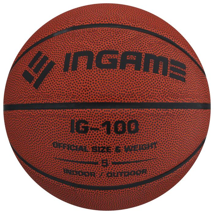 Мяч баскетбольный INGAME IG-100 5