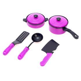 Набор посуды 'Мини шеф-2', 5 предметов, МИКС в ПАКЕТЕ Ош