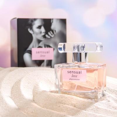 Парфюмерная вода женская с феромонами Sensual Love, 55 мл - Фото 1