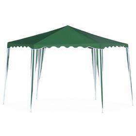 Шатер садовый 2*2*2м гексагональный, зеленый, открытый Ош