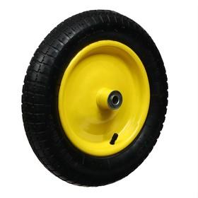 Колесо пневматическое 3.00-8, d колеса 365мм, d ступицы 16мм, L ступицы 91мм. Ош