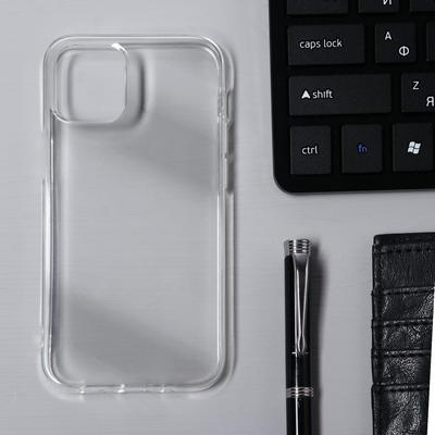 Чехол Krutoff, для iPhone 12 mini, силиконовый, прозрачный - Фото 1