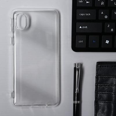 Чехол Krutoff, для Samsung Galaxy A01 Core (A013), силиконовый, прозрачный - Фото 1