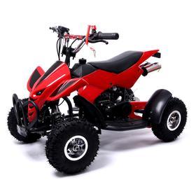 Квадроцикл бензиновый ATV R4.35 - 49cc, цвет красный Ош