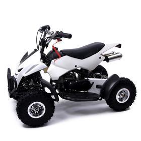 Квадроцикл бензиновый ATV R4.35 - 49cc, цвет белый Ош