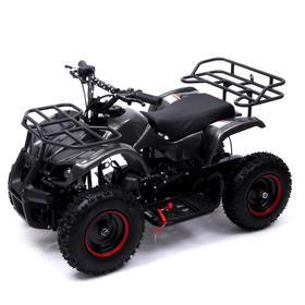 Квадроцикл бензиновый ATV G6.40 - 49cc, цвет чёрный карбон Ош