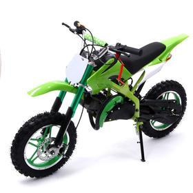 Питбайк бензиновый P.40 - 49cc, цвет зелёный Ош