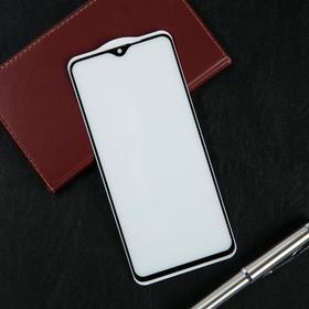 Защитное стекло Krutoff, для Xiaomi Redmi Note 8 PRO, полный клей, черная рамка