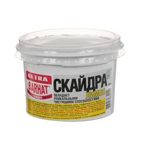 """Чистящая паста """"СКАЙДРА"""" для чистки посуды и любых поверхностей, лимон, 500 гр"""
