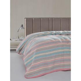 Плед Rainbow, размер 130x170 см, цвет грязно-розовый