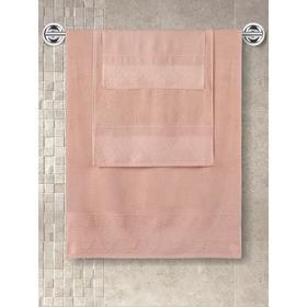 Полотенце махровое Siesta, размер 40x60 см, цвет абрикосовый