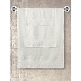 Полотенце махровое Siesta, размер 40x60 см, цвет кремовый