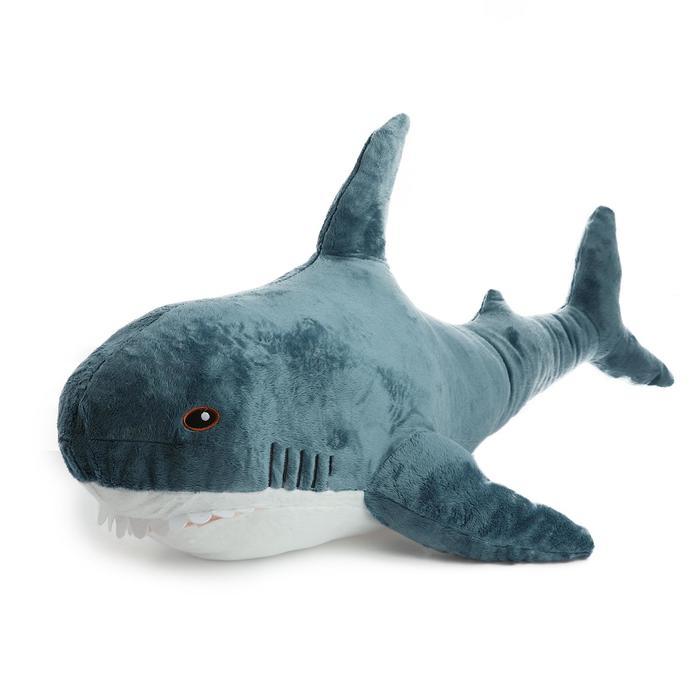 Мягкая игрушка Акула, 1,2 м