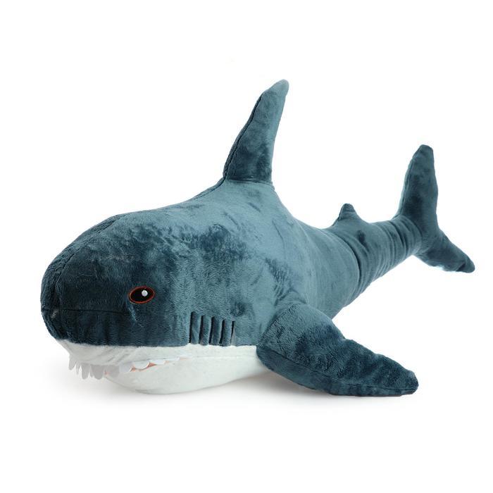 Мягкая игрушка Акула, 1,4 м
