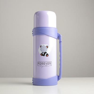 """Термос 1.2 л """"Forever"""", сохраняет тепло 18 ч, фиолетовый"""