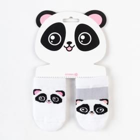 Набор носков Крошка Я «Панда», 2 пары, 6-8 Ош