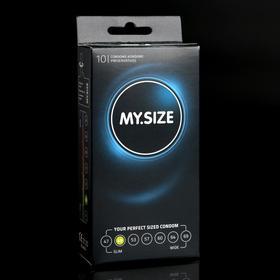 Презервативы MY.SIZE ширина 49mm, 10 шт
