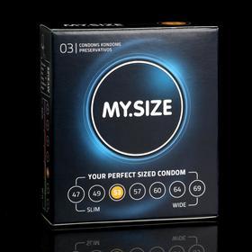 Презервативы MY.SIZE ширина 53mm, 3 шт