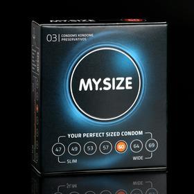 Презервативы MY.SIZE ширина 60mm, 3 шт
