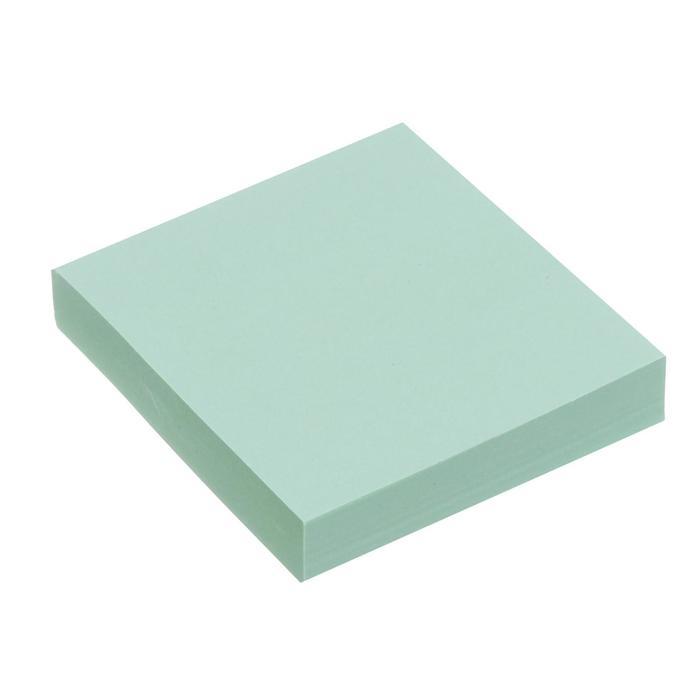 Блок с липким краем 51мм51мм 100л пастель зеленый