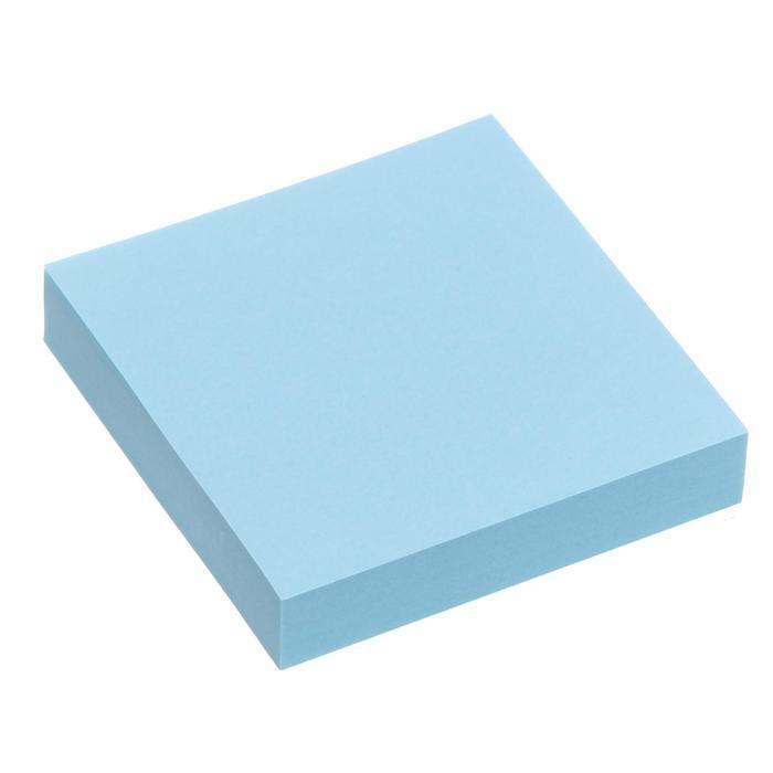 Блок с липким краем 51мм51мм 100л пастель голубой
