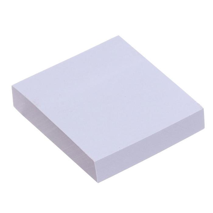 Блок с липким краем 51мм51мм 100л белый