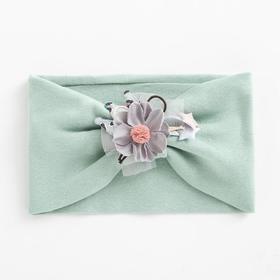 Повязка для девочки «Принцесса», цвет бирюзовый, размер 48-54 (2-7 лет)