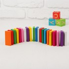 Плашки Цветные, 28 элементов