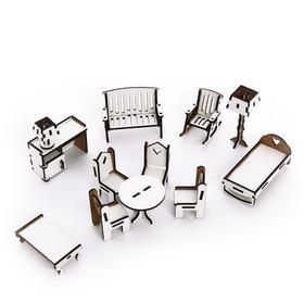 Набор мебели для дома «Doll Style»