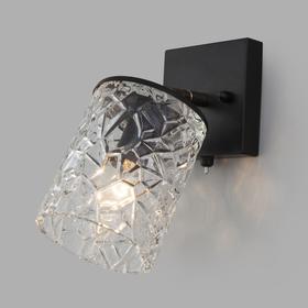 Светильник Jackice, 1x60Вт E14, цвет чёрный, золото