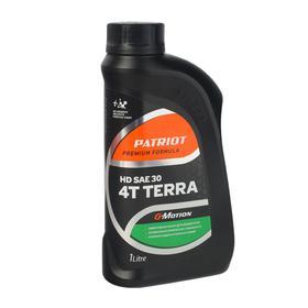 Масло минеральное PATRIOT G-Motion HD SAE 30 4Т TERRA, 1л, зимнее - 25 °С