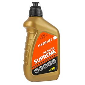 Масло PATRIOT SUPREME HD SAE 30 4Т 0,946 л, SAE 30, 0/+50 °С