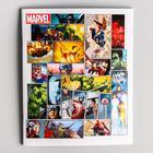 Тетрадь 48 листов в клетку, картонная обложка, Мстители - Фото 1