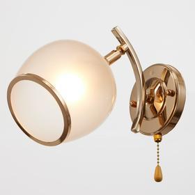Бра 2951-1, 1х60Вт Е27, цвет золото