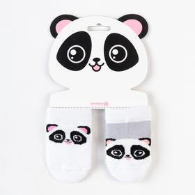 Набор носков Крошка Я «Панда», 2 пары, 8-10 Ош