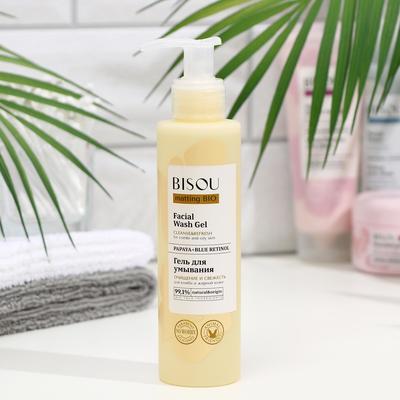 Гель для умывания BISOU matting BIO «Очищение и свежесть», для комбинированной и жирной кожи, 150 мл - Фото 1