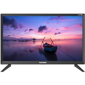 "Телевизор Telefunken TF-22S01T2, 22"", 1920х1080, DVB-T/T2/C, 2 HDMI, 1 USB, черный"