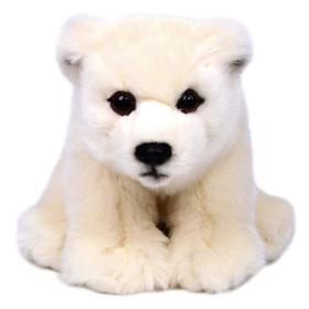 Мягкая игрушка «Медведь полярный», 18 см