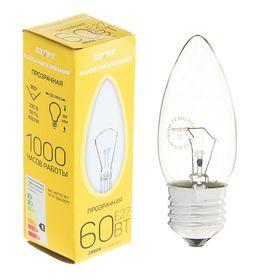 """Лампа накаливания """"Старт"""" ДС, Е27, 60 Вт, 230 В"""