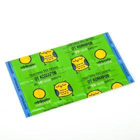 Пластины от комаров 'Оффлайн Комарофф', без запаха, 10 шт Ош